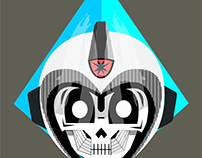 Esqueleto espacial