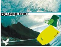Ilustração Bodyboard