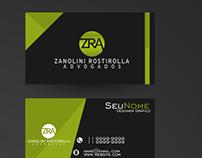 Logo e Identidade Visual (papelaria) Zanolini Rostirola