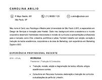 Currículo | CV, Recursos Humanos