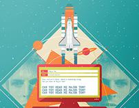 Space Oddity Illustration