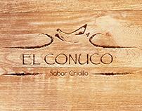 Re-diseño Identidad a Restaurante Dominicano El Conuco.