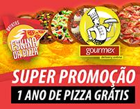 Arte para banner e Anúncio Adwords Gourmex Promoção