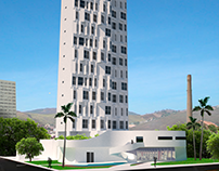 Edifício Vertical, Caruaru (Projeto acadêmico)
