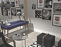 ARQ|INT - Design de Interiores - Sala de Estar