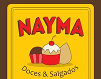 LOGO - NAYMA DOCES & SALGADOS