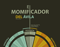 infografía // infographic  EL MOMIFICADOR DEL ÁVILA