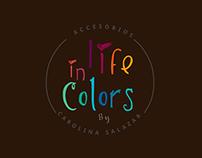 Boceto. Logo Cliente Life in Colors