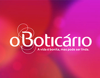 Proposta de Hotsite de Natal - O Boticário