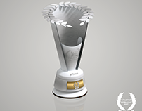 Trophy design for Startup World Cup