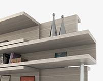 Visualizacion 3D - Mobiliario 01