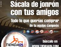 Promoción Sácala de Jonrónpara la TiendaUN