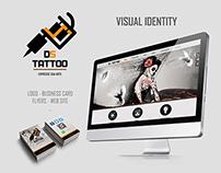 Visual Identity Ds Tattoo