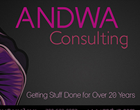 Business Cards for ANDWA Consulting