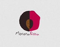 MorenaRosa logo redesign