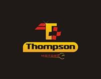 Logo Thompson Motors - Oficina mecânica.