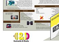 folleto descriptivo