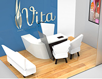 Producción Gráfica para Vita centro de estítica.
