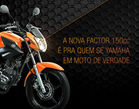 Eu Yamahei - Nova Yamaha Factor 150cc