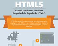 HTML5 La web jamás será la misma después de la llegada