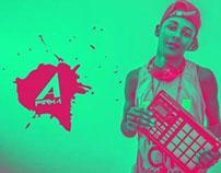 """Digital Graphic: A Firma """"Funk Ostentação Retro"""""""