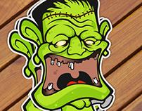 Sticker Zoombie