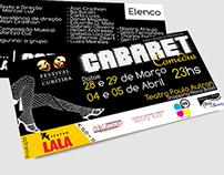 Flyer | Teatro LALA (Cabaret Comédia)