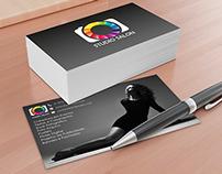 Logo + Cartão Studio Salon