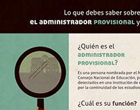 Infografía Administradores