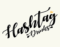 Logo Hashtag Drinks