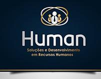 Logo e Papelaria Human