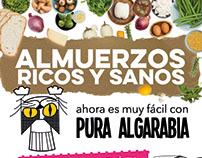 Flyer para impresión - Pura Algarabía