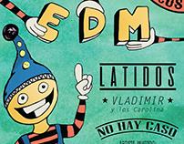 Ilustración y Diseño para eventos - Fiesta es de Manija