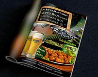 Anúncio do Bar da Montanha para guia gastronômico