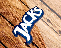 Jacks - Graphic image for social networks.