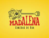 Logotype Madalena comidas de rua