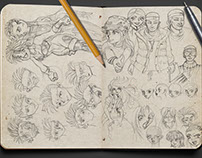 Sketches & Illustrations