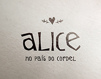 Alice no País do Cordel | Illustration