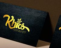Logotipo Khios Restaurant