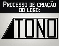 Processo de criação do logo: TONO