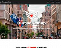 Sitio web para equipo de programadores