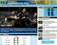 Copa Sudamericana 2016 - Emol.com