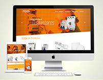 Website focoled.com.br