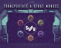 Transportate a otros mundos - Syfy | Campaña Digital