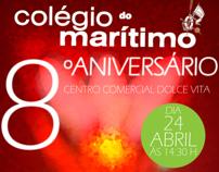 Colégio do Marítimo Anniversary Flyer