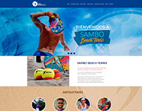 pag web. design beach tenis