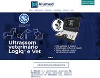 Criação ALUMED de site baseado em projeto PSD