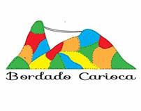 Logo para o ateliê Bordado Carioca