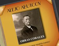 """CD Cover """"Abutcov"""" Coro Egresados Martín Zapata"""