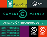 Comedy Central -TV channel branding